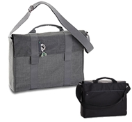 "Recycled PET 15"" Laptop Carrying Bags in Bonobo ($99.95)"