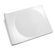 BPA-Free Large Cutting Board in White