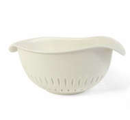 BPA-Free Small Colander in White