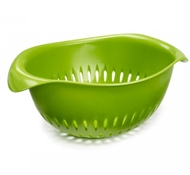 BPA-Free Small Colander in Green
