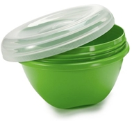 BPA-Free Large Food Storage Containers in Green