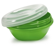 Preserve BPA-Free Small Food Storage Containers in Green