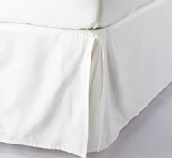 Organic Cotton Sateen Bed Skirts