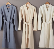 Organic Cotton Pebbled Terry Unisex Robes