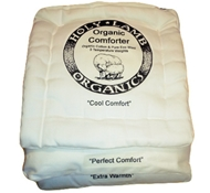 Holy Lamb Eco-Wool + Organic Cotton Comforter Sample (Cool Comfort, Perfect Comfort and Extra Warmth)