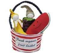 Organic Cotton Stuffed Toy Fruit Set