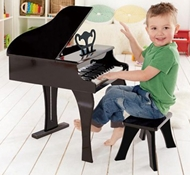 UP Eco-Friendly Happy Grand Piano in Black