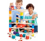 Eco-Friendly Xcellerator Marble Run