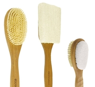 Bamboo Bath Brush Set