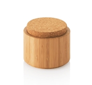 Bamboo & Cork Canister - Small