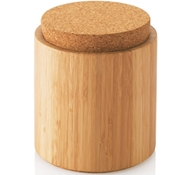 Bamboo & Cork Canister - Large