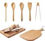 Bamboo Deluxe Kitchen Set