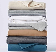 Organic Cloud Brushed Flannel Sheets & Duvets