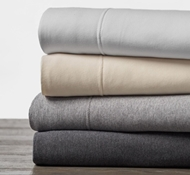 Coyuchi Organic Jersey Cotton Sheet Sets & Pillowcases