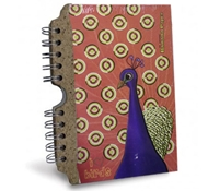 Recycled Banana Paper Journal - Peacock