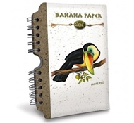 Recycled Banana Paper Journal - Toucan