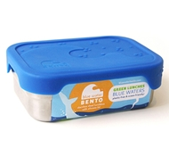 Stainless Steel + Silicone Lid 'Splash Box' Lunchbox