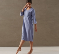 Coyuchi Organic Cotton Jersey Women's Nightgown