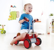 Eco-Friendly Little Red Rider Walker & Ride-On Car