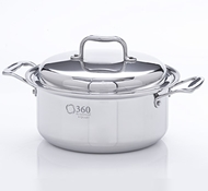 Stainless Steel 4 Quart Stock Pot + Cover