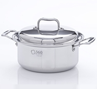 Stainless Steel 6 Quart Stock Pot + Cover
