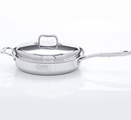 Stainless Steel 3.5 Quart Saute Pan + Cover