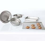 Stainless Steel 5-Piece Bakeware Set