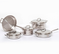 Stainless Steel 9-Piece Cookware Set