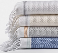 Coyuchi Organic Cotton Mediterranean Towels