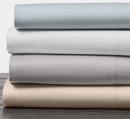 Organic Cotton 300 Thread Count Percale Sheets & Pillowcases