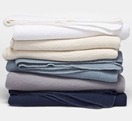 Organic Cotton Cascade Coverlets