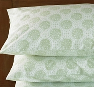 Coyuchi Organic Cotton Sand Dollar Printed Pillowcases