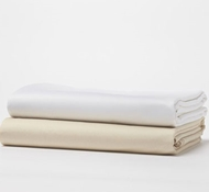 Coyuchi Organic 500 TC Supima Cotton Sateen Sheets & Bedding ($98 - $598)