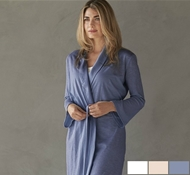 Coyuchi Organic Cotton Verbena Robe (Large Only)