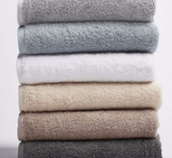 Coyuchi Cloud Loom Organic Cotton Towels & Bath Mats