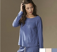 Coyuchi Organic Cotton Long Sleeve Verbena Pajama Top