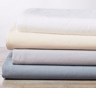 Organic Cotton 220 Thread Count Percale Pillowcases (Set of Two)