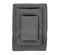 Bamboo Towel Set in Slate (1 Wash Cloth, 1 Hand Towel, and 1 Bath Towel)