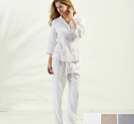 Coyuchi Point Reyes Linen PJ Set
