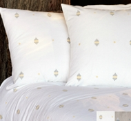 Organic Cotton Morro Rock Embroidered Duvet Covers & Shams