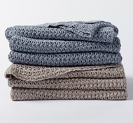 Organic Cotton Marled Throw