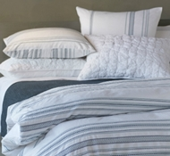 Organic Cotton Geo Stripe Duvet Covers & Shams