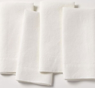 Simple Linen Napkins (Set of 4)