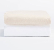 Organic Cotton Flannel Fitted Crib Sheet