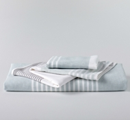 Coyuchi Organic Cotton Sutro Stripe Towels
