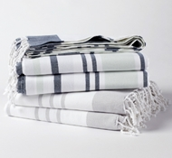 Organic Cotton Sutro Stripe Coverlet