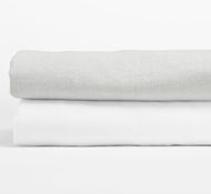 Relaxed Linen Fitted Crib Sheet