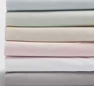 Coyuchi Organic Cotton Sateen Fitted Crib Sheets