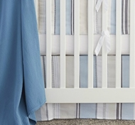 Organic Cotton & Linen Tidal Pool Crib Collection