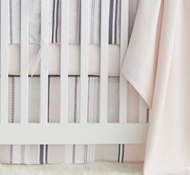 Organic Cotton Blossom Crib Collection
